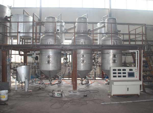 某醫藥廠發(fa)酵液濃縮項目MVR蒸發(fa)器