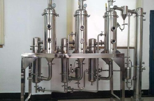 MVR废水蒸发器解决锂电废水流程如下: