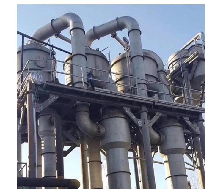 多效降膜蒸发器的主要原理
