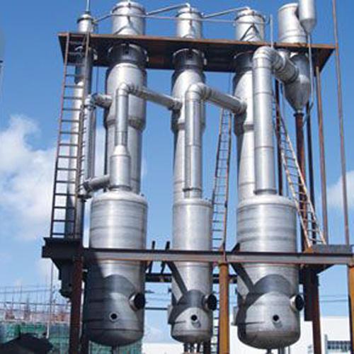 蒸发器中制冷剂的充满高度应适中