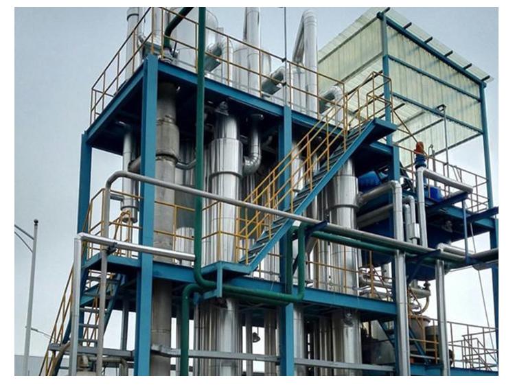 由于废水蒸发器具有较高的自动化水平