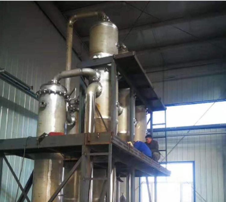 废水蒸发器冷却水不足